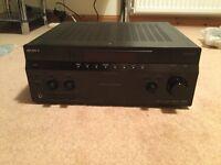 Sony STR-DA 1200ES AV receiver & KEF KHT 1005 speakers with stands