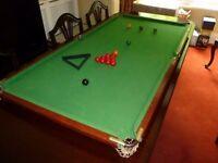 "Snooker Billiards Table 61""x 30.5"""