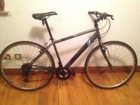 Hybrid Bike Transfer, 18 gears, v-brakes, medium size. available city centre