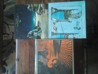 3 Classic Prog Rock Vinyl Albums