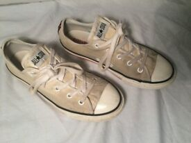 Size 1.5/EUR 33 converse all stars (used)