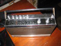 Grundig Transistor Radio - 1970s - New PP9 Battery Installed