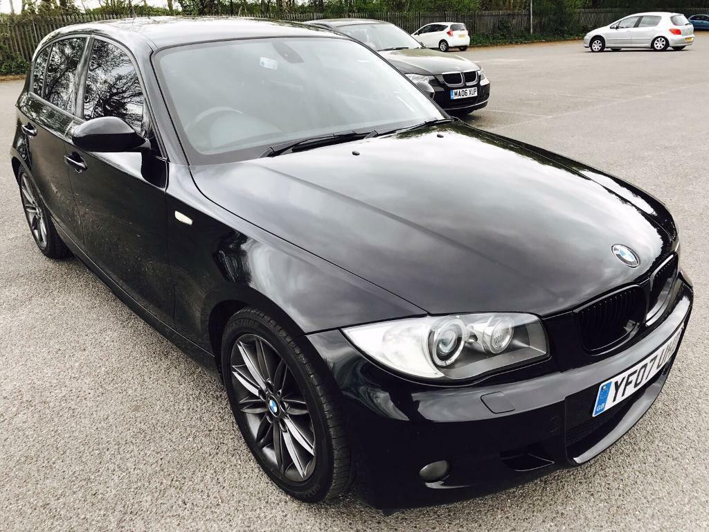 bmw 1 series 116i m sport 2007 1 6 petrol s hstry 2 key leather mot 2 owners in slough. Black Bedroom Furniture Sets. Home Design Ideas