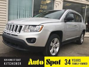 2011 Jeep Compass North Edition.LOW, LOW KMS!/5SPD/MOONROOF!!