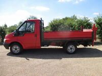 Ford Transit drop-side with tail lift - 1 Years MOT
