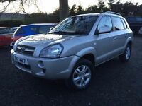 Mint 2008 new model Hyundai Tucson Style 4wd CRDI jeep 4x4 trade in considered,credit cards accepted