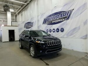 2016 Jeep Cherokee Limited Brilliant Black