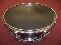"DRUMS , DW , PDP Pacific 14"" Snare Drum."