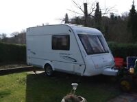 Compass Corona Club 362 2 berth Caravan 2008, Hardly Been Used, Great Condition, Includes Awning Etc