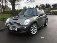 2002 02 Mini Cooper S 1.6 supercharger grey. 97k FSH MOT Px CARDS ACCEPTED