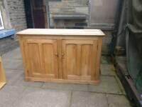 Solid wood wardrobe unit/ cabinet