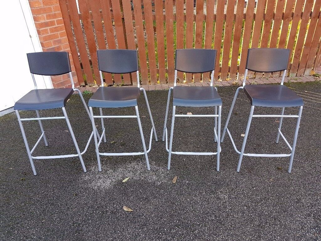 4 Bar Stools FREE DELIVERY 088