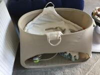 Stokke baby day bed and bouncer