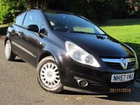 CORSA 2008 1.2 LIFE A/C LONG MOT 87K SERVICE HISTORY GREAT VALUE