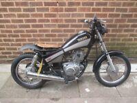 yamaha sr 125 12months mot motorbike cbt legal great bike cafe racer needs carb sorting!