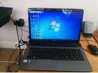 Acer Aspire 7736 BLUE Laptop 17'' 4GB RAM 360GB Hard disk