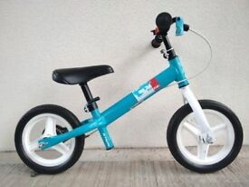 "(2752) 10"" LIGHTWEIGHT B'TWIN RUN RIDE BALANCE BIKE Boys Girls Kids Age: 2-4; Height: 80-100cm"
