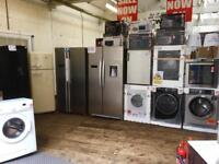 REFURBISHED /NEW / GRADED, ALL IN ONE PLACE, WASHING MACHINES, FRIDGE FREEZERS, DRYERS, COOKERS TVs