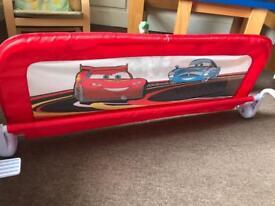Bed Guard: Drop-down Lightning McQueen single size