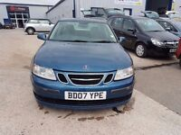 SAAB 93 AIRFLO 150DT, 19 TD. BD07 YPE LOW MILEAGE. FULL SERVICE HISTORY