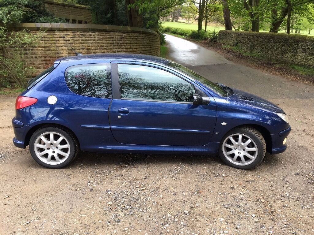 peugeot 206 hdi gti 110 in glossop derbyshire gumtree. Black Bedroom Furniture Sets. Home Design Ideas