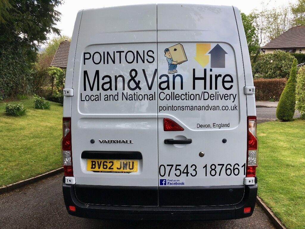 ee5537ac36 POINTONS Man and Van   Man and Van Hire in Exeter