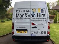 POINTONS Man and Van / Man and Van Hire in Exeter, Devon. Removals/Light Haulage/Motorbike Transport