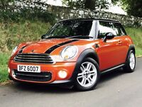 Stunning 2011 Mini Cooper 1.6, over £6000 of factory extras, trade in welcome, credit cards accepted