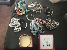 Over 200 pieces of jewellery