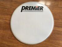 Drum Heads - Premier 20 Bass Drum Head - Excellent