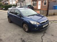 2008 08reg Ford Focus 1.8 Tdci Zetec Blue 5 Door