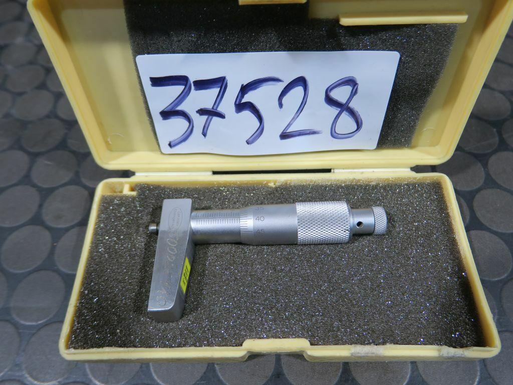 Mitutoyo Tiefenmessschraube Tiefenmesser 0-25mm #37528