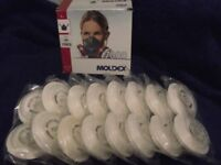 Moldex mask and spare filters