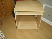 computer desk - in beech