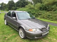 MG ZS+ 1.8 52 REG IN THUNDER GREY WITH GREY TRIM, 95400 MILES,SERVICE HISTORY AND MOT APRIL 2017