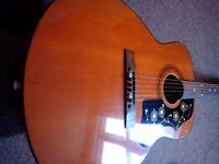 Vintage eko 6 string guitar