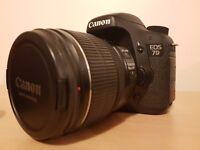 Canon 7D + Lenses
