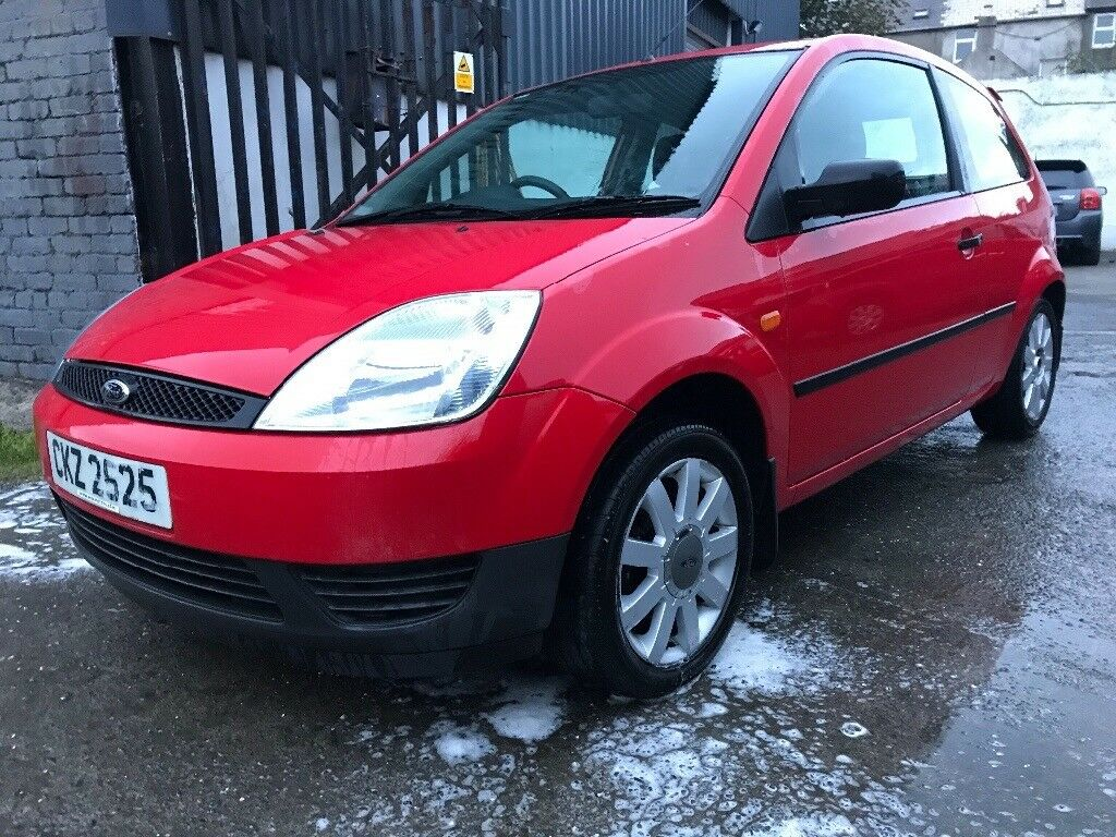 Ford Fiesta (damage repairable) (low miles)