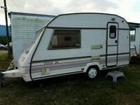 1993 Sterling Eccles topaz 2 berth end kitchen caravan