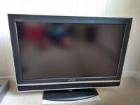 Sony Flatscreen TV with free DVD player