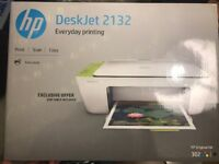 Brand New HP Printer with box and ink