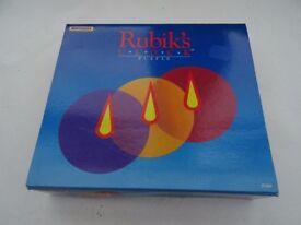 MATCHBOX 1988 RUBIK'S CUBE CLOCK PUZZLE. Unused plus instruction leaflet.