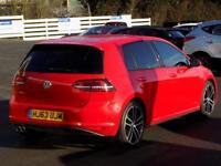 VOLKSWAGEN GOLF 2.0 GTD 5dr 181 BHP (red) 2013
