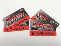 4 passes to round 3 maxxis motorcross championship 22/04/18