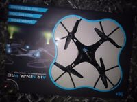 Boxed R.C air ninja pro drone with camera