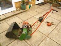 Lawnmower. Vintage Suffolk Colt (petrol)