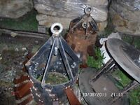 Pipe Scrapers and Plungers For Water mains