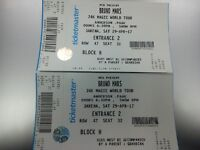 Bruno Mars x2 Seating 3ARENA