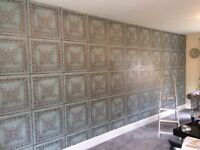 £60 PER FEATURE WALL. WALLPAPERING, PAINTER ND DECORATOR. 100% QUALITY ASSURED. NO UPFRONT COST