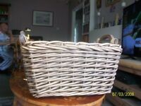 Large basket with handles ideal for storing .